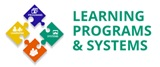 logo de learning programs white background